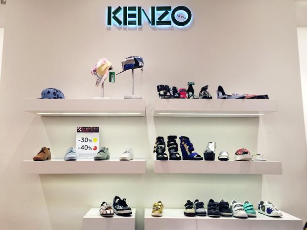 La Vallée Village outlet Parijs Kenzo schoenen