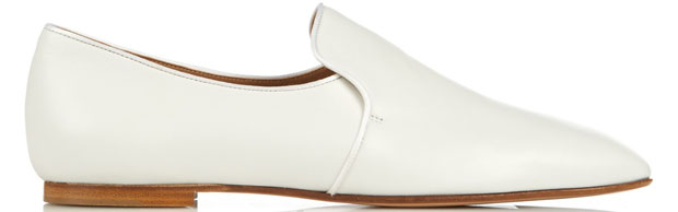 The Row Alys loafers white