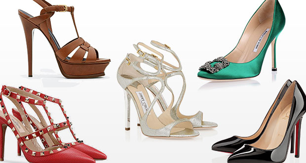 5 musthave designer heels