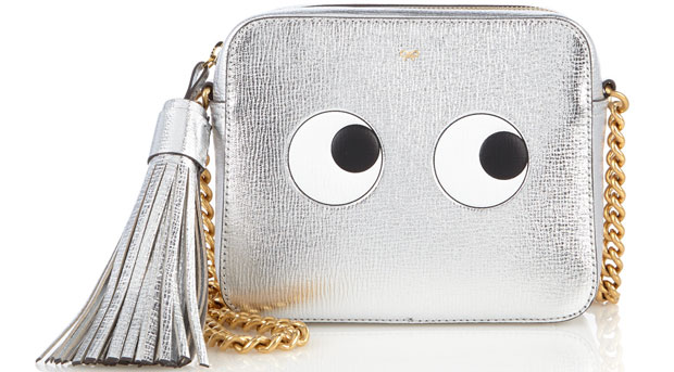 Anya Hindmarsh eyes silver camera bag
