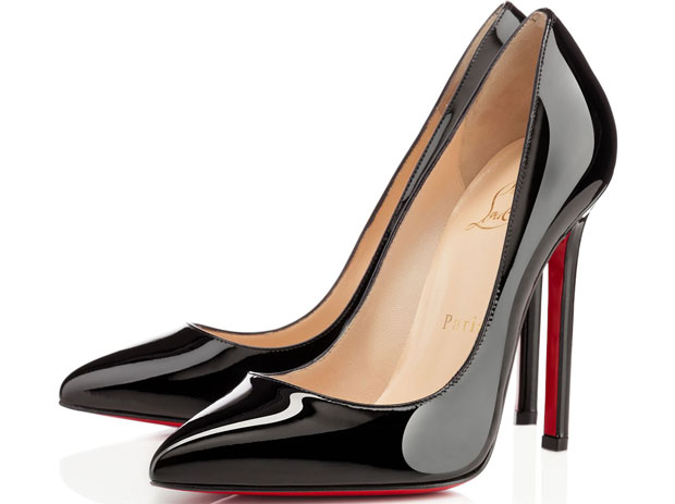 Christian Louboutin Pigalle patent black 120
