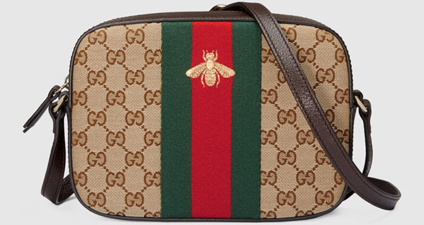 Gucci original gg schouder bag bee