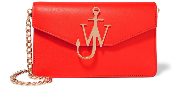 JW Anderson logo bag red