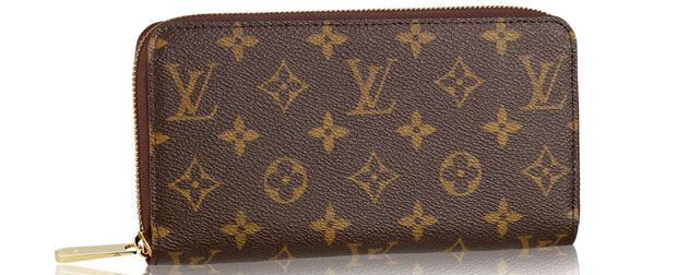 Louis Vuitton zippy toile monogram