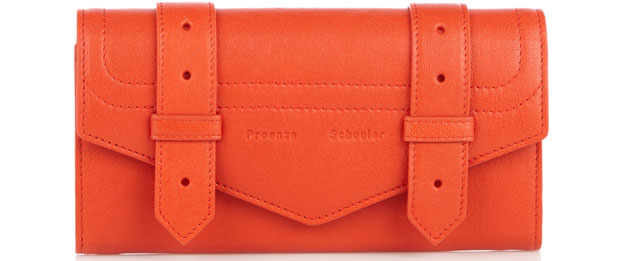 Proenza Schouler wallet ps1 orange