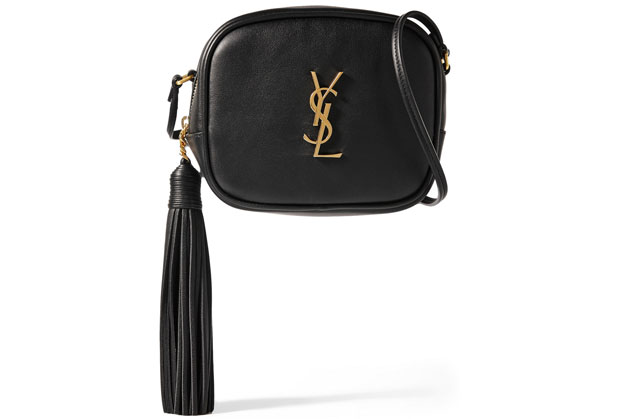 Saint Laurent blogger camera bag black