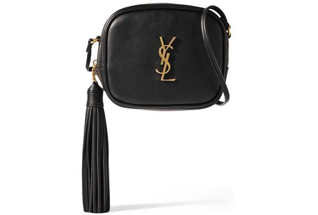 Saint Laurent blogger camera bag black