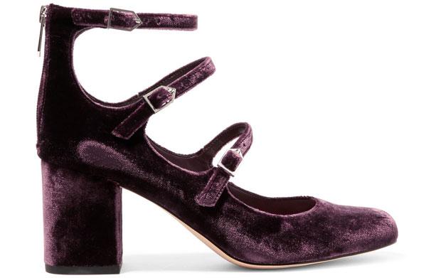 Sam Edelmand Calista pumps purple