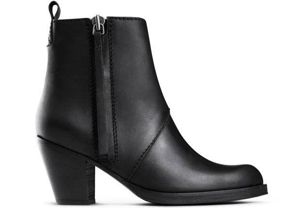 Acne Pistol boots sh black