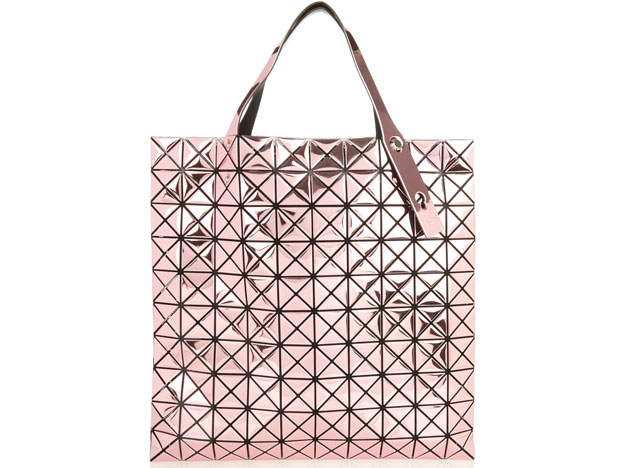 Bao Bao Issey Miyake tassen prism 1 platinum metallic pink