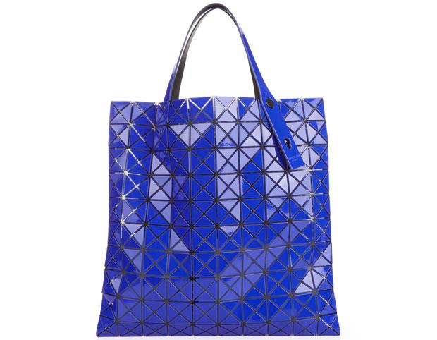 Bao Bao Issey Miyake tassen prism 1 platinum blue