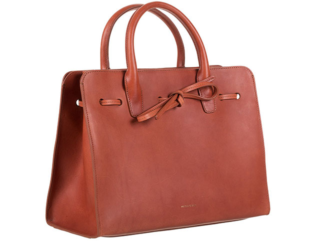 mansur gavriel sun bag brown