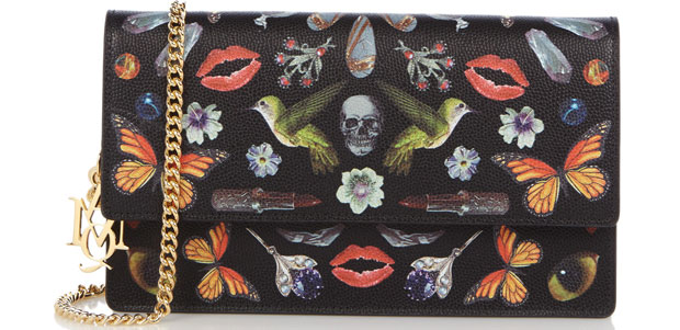 Alexander McQueen woc obsession print