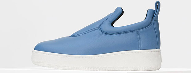 Céline pull on sneakers cornflower blue