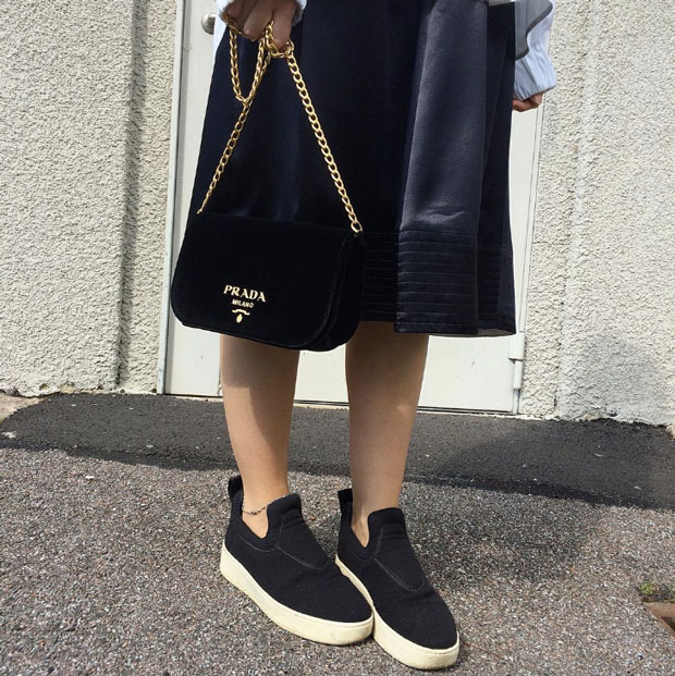 Céline pull on sneakers instagram/ltws