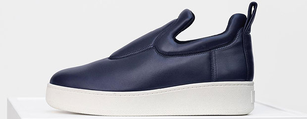 Céline pull on sneakers navy blue