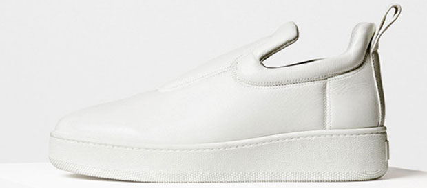 Céline pull on sneakers white