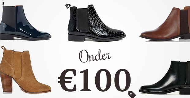 Chelsea boots onder 100 euro