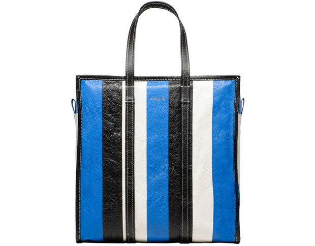 Balenciaga Bazar shopper medium blue black white