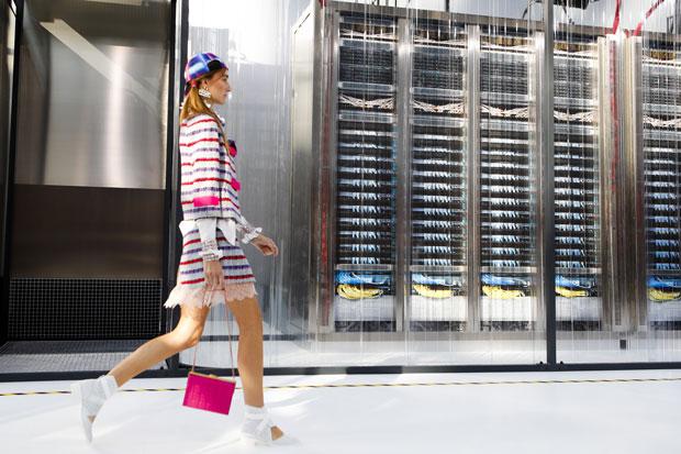Chanel ss 2017 data center Chanel runway look