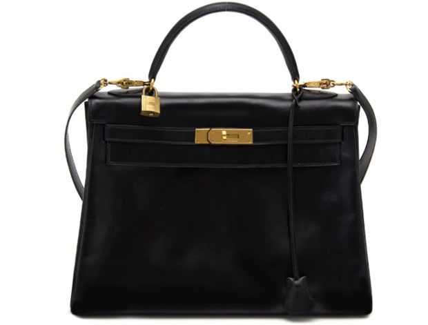 Hermès Kelly 32 boxcalf labellov