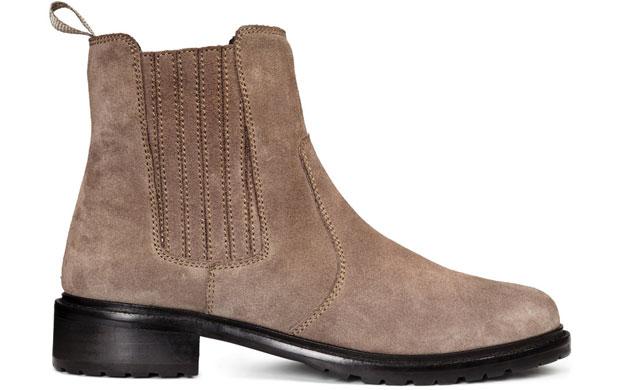 H&M Chelsea boots light beige