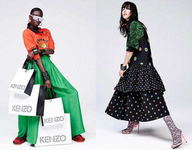 Kenzo x H&M campaign
