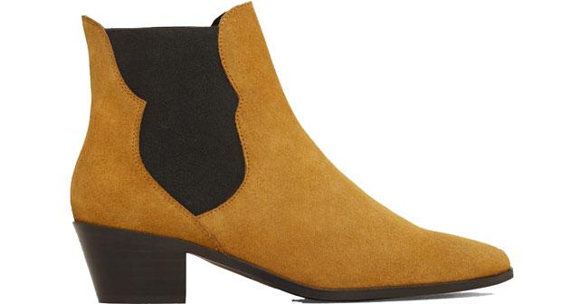 Mango Chelsea boots bruin