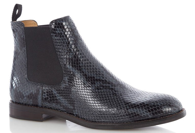 Marc Jacobs chelsea boots snake
