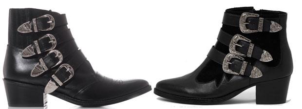 River Island vs Toga Pulla western boots