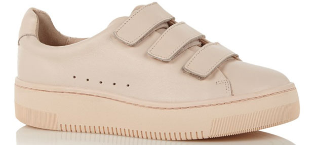 Sandro accept sneakers blush