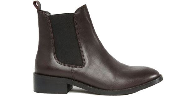 asos brown chelsea boots