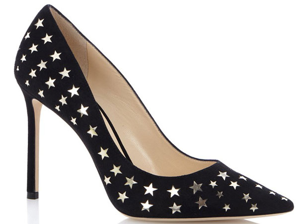 Jimmy Choo Romy 100 pumps stars