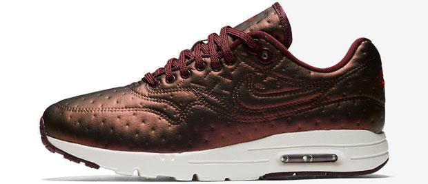 Nike Air Max 1 ultra Jacquard maroon