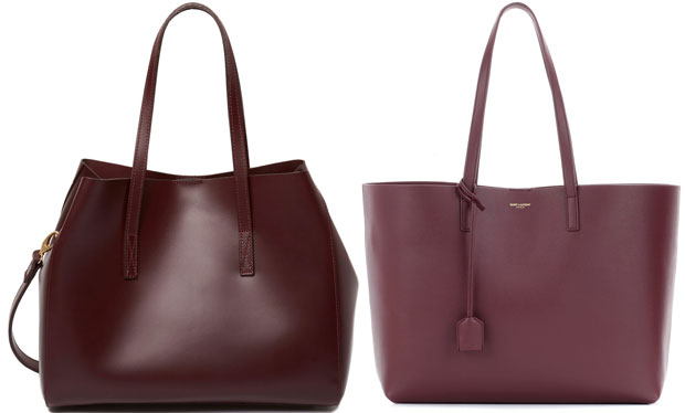 River Island vs Saint Laurent shopper