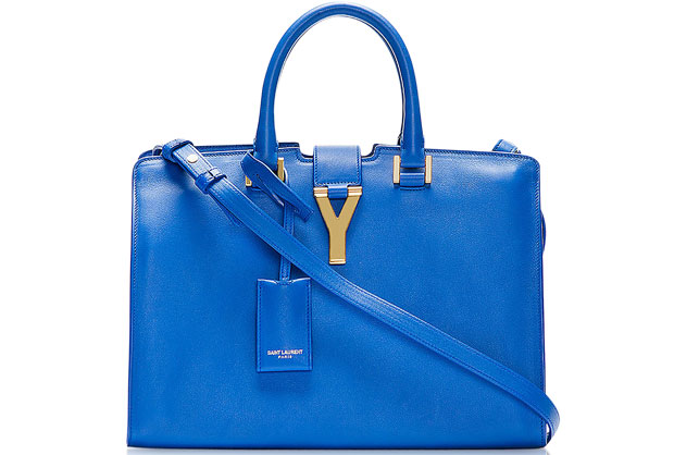 Saint Laurent Y Cabas blue