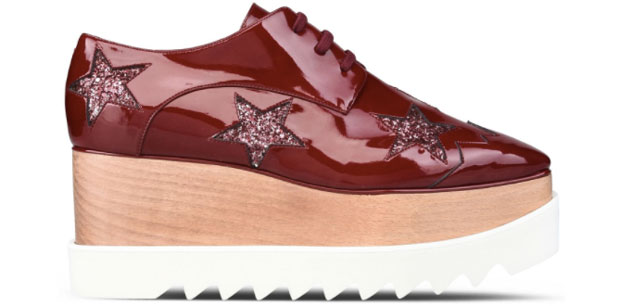 Stella McCartney Elyse Ruby red