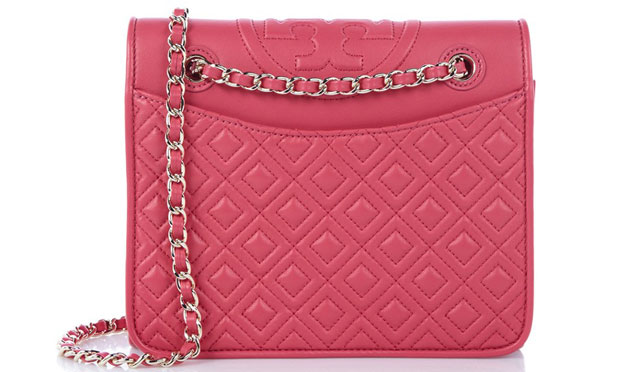 Tory Burch Fleming schoudertas roze