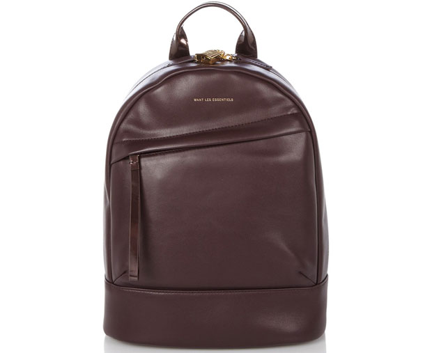 WANT les Essentiels de la Vie Piper backpack mini bordeaux