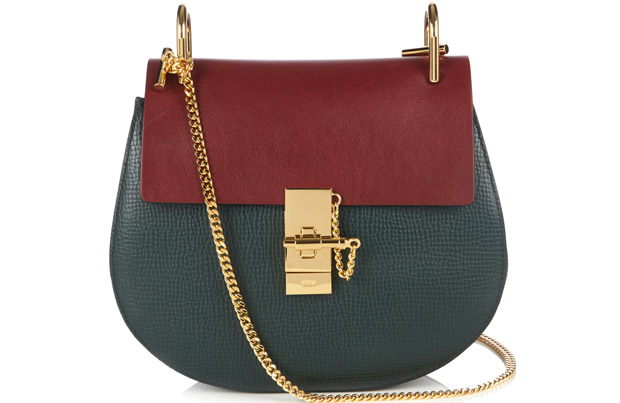 Chloé Drew small red green