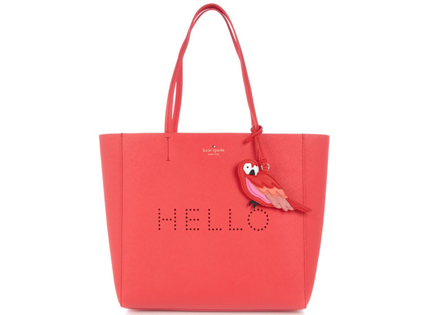 Kate Spade New York Hello Hallie shopper rood