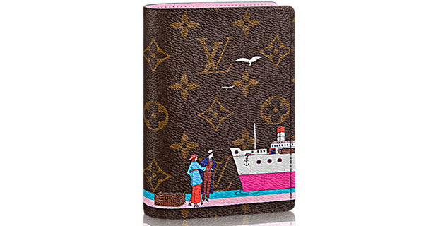 Louis Vuitton Couverture Passeport toile monogram voyage