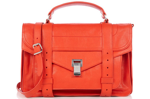 Proenza Schouler PS1 medium rood