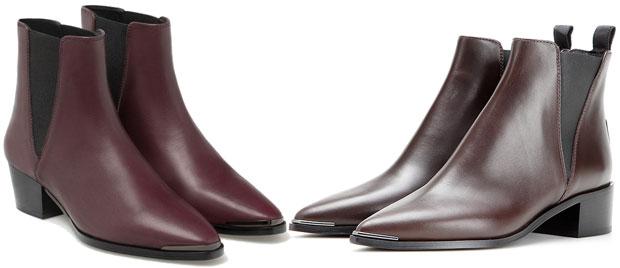Uterqüe vs Acne Jensen boots