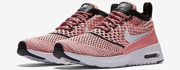 Nike Air Max Thea Flyknit roze