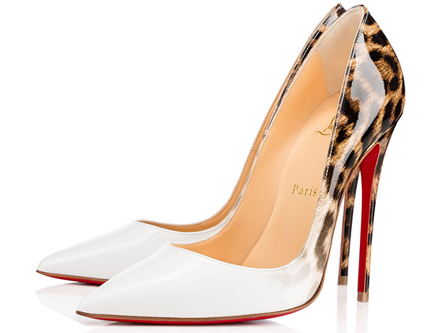 Christian Louboutin So Kate ombre white