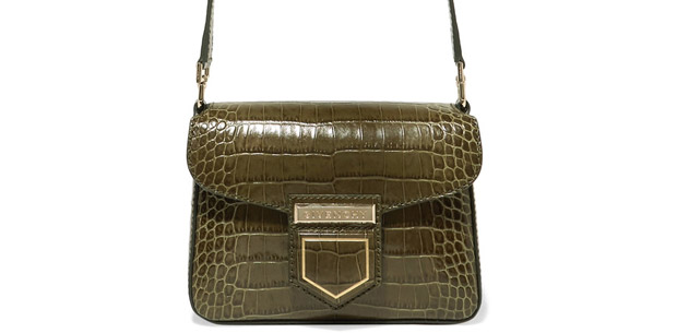 Givenchy Nobile mini green croc