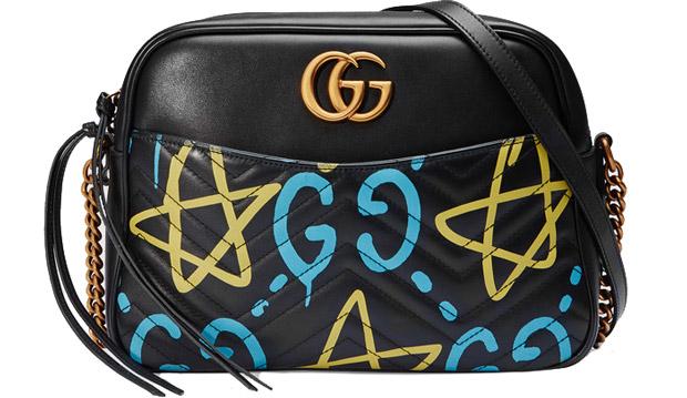 GucciGhost Marmont matelasse camera bag