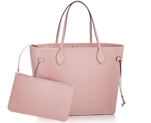 Louis Vuitton Neverfull MM Epi Rose Ballerine