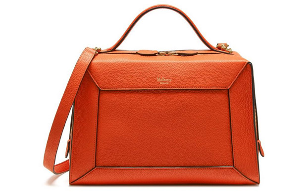 Mulberry Hopton small orange